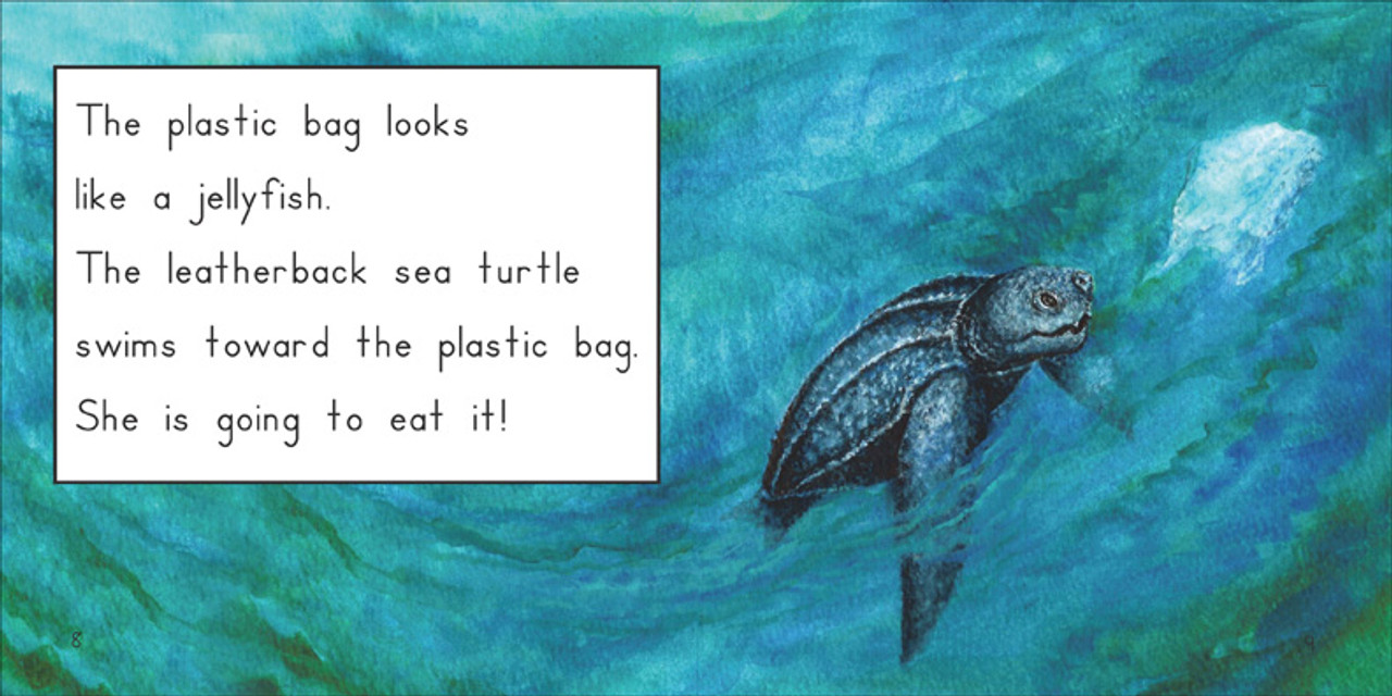The Leatherback Sea Turtle - Level E/8