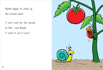 Beetle and Snail Find a Tomato - Level G/11