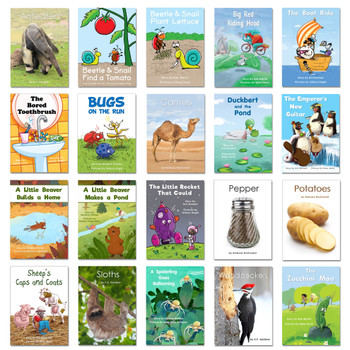 covers Books for First Grade!  New Set (SNGPK16)