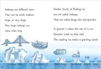 Icebergs - Level K/18