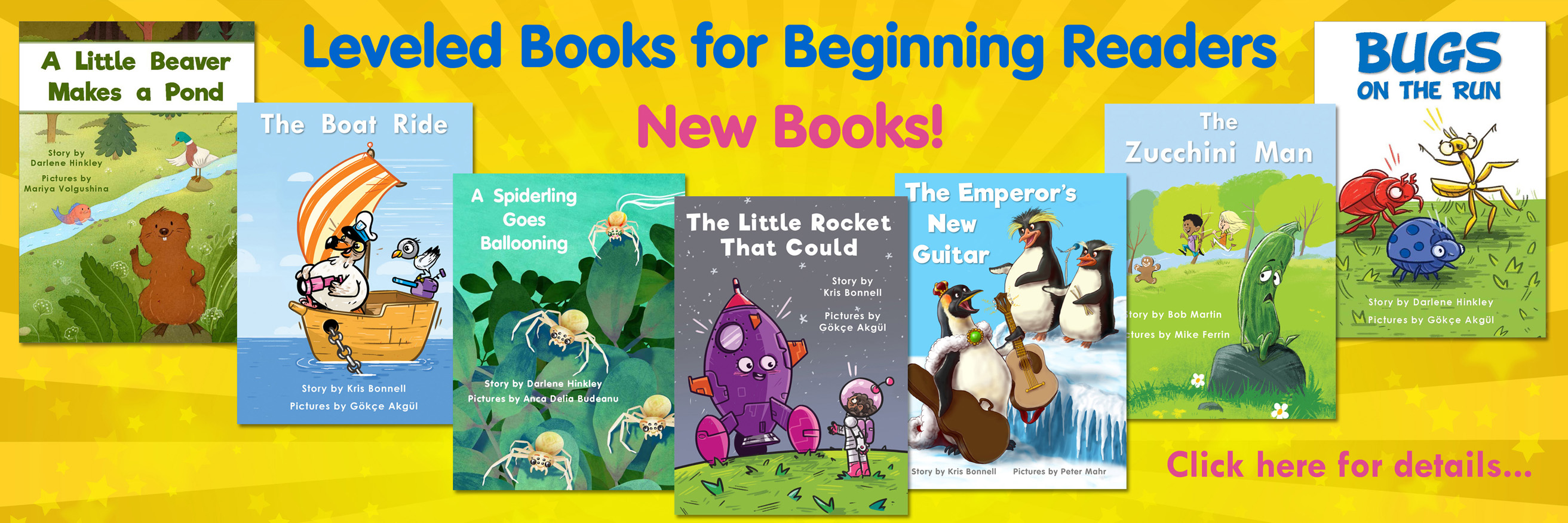 Leveled Books for Beginning Readers New Books Click Here for Details