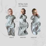 FX (Fetal Flex) Swaddle - Grey / Standard Weight