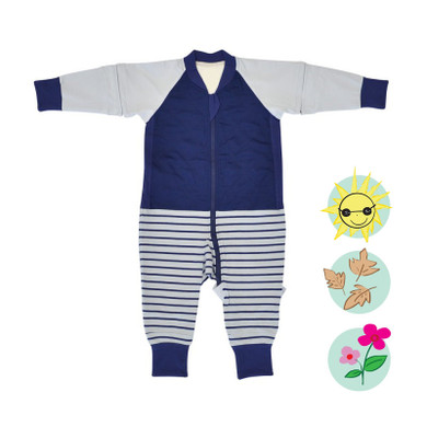 X-TEND Sleepsuit - Navy / 1.0 Tog