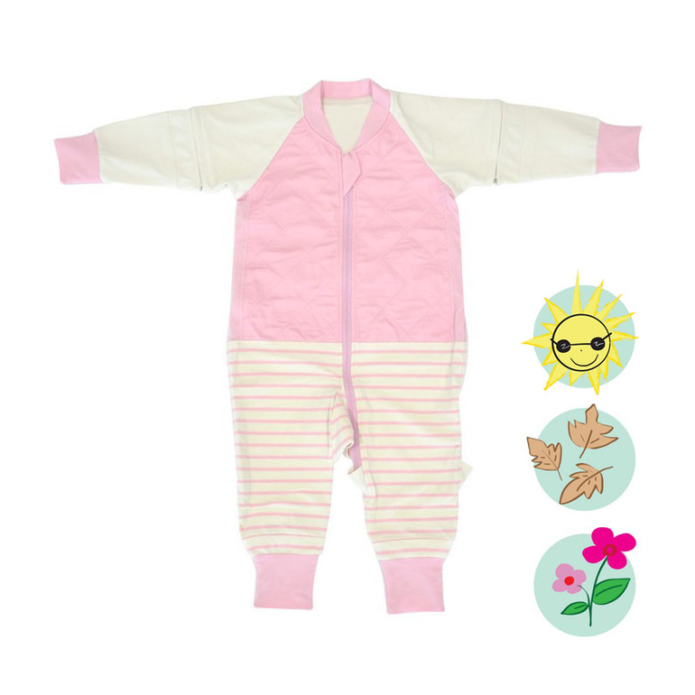 X-TEND Sleepsuit - Orchid Pink / 1.0 Tog
