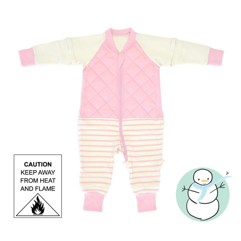 X-TEND Sleepsuit - KIDS / Orchid Pink / 3.5 Tog
