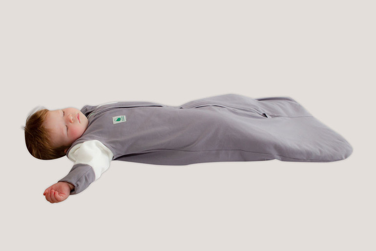 Baby sleeping in the Combined Winter Sleep Bag