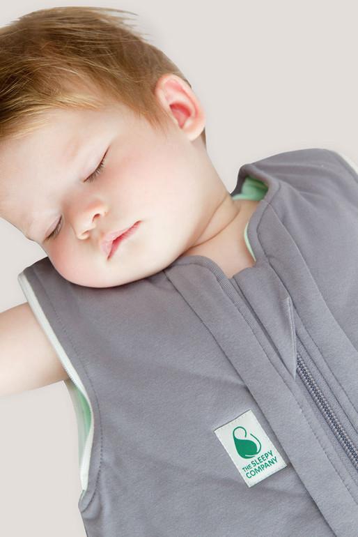 Baby sleeping in the Autumn/Spring Sleep Bag