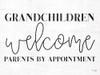 Grandchildren Welcome Picture