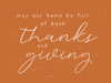 Thanks and Giving Picture