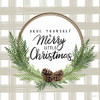 Pine Wreath Christmas Picture