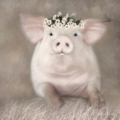 Painted Piggy  Picture