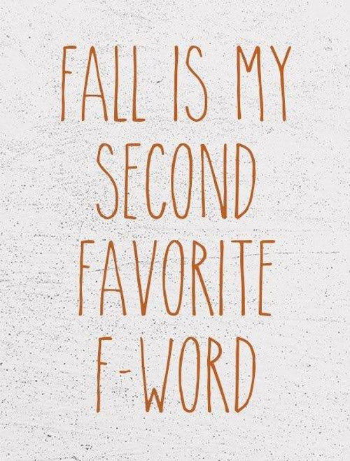Fall Second Word Picture
