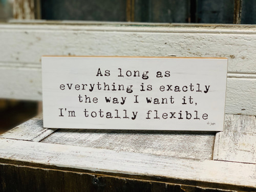 I'm Flexible Block