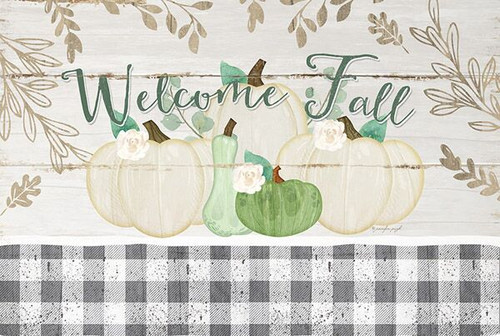 Welcome Fall Pumpkins Picture