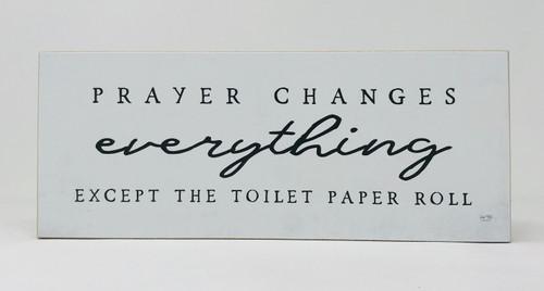 Prayer Changes Block