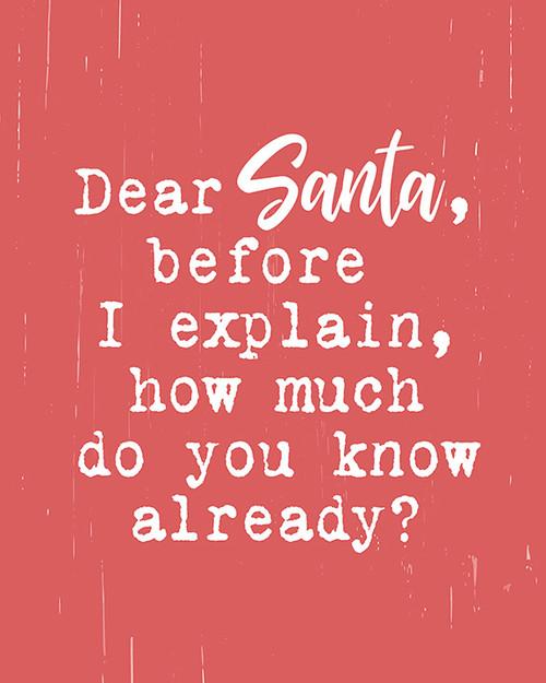 Dear Santa Picture