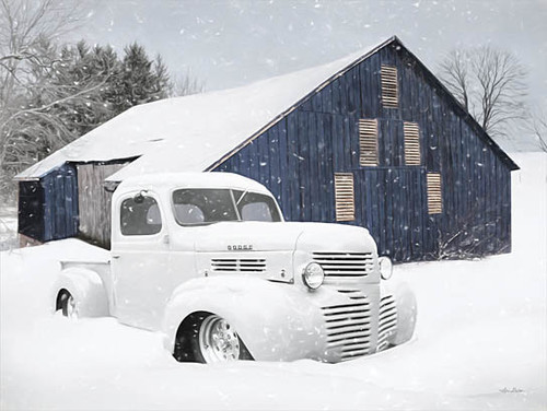 White as Snow Truck Picture