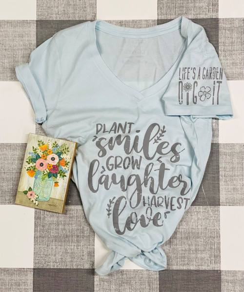 Plant Smiles Shirt (CLEARANCE)