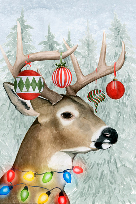Decorated Deer Picture