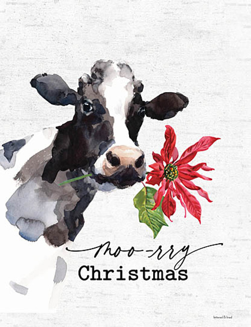 Moo-rry Christmas Picture
