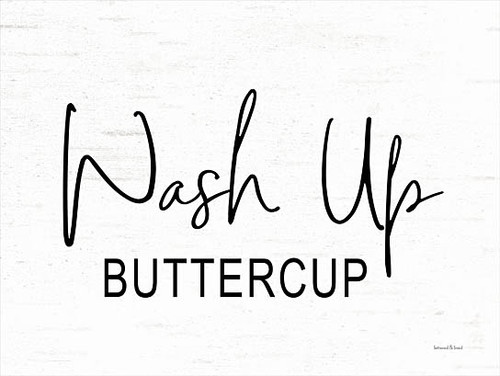 Wash Up Buttercup Picture