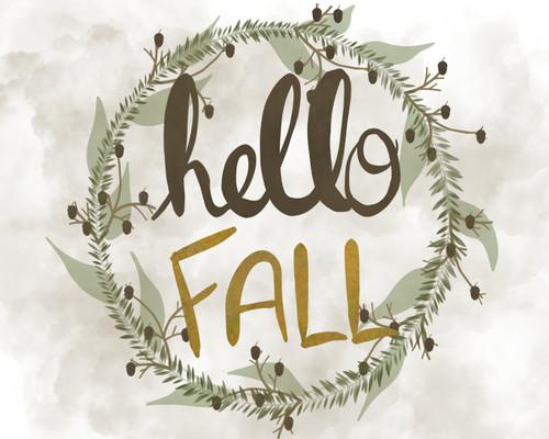 Hello Fall Wreath Picture