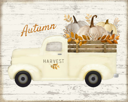 Autumn Harvest Truck Picture