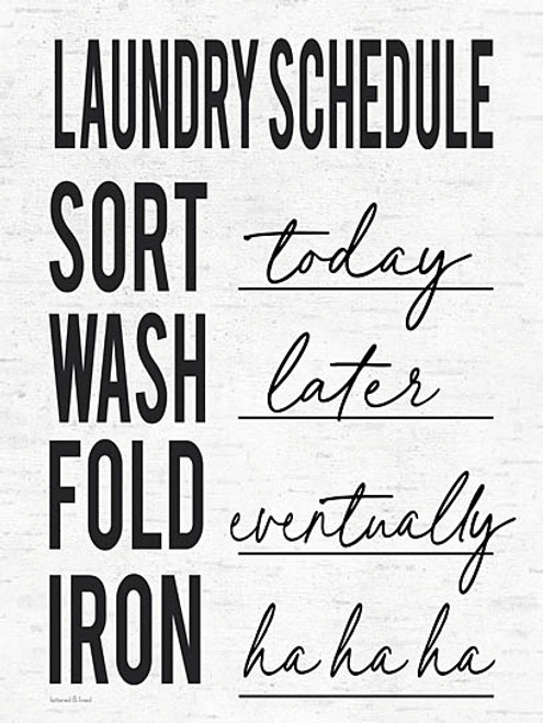 Laundry Schedule Picture
