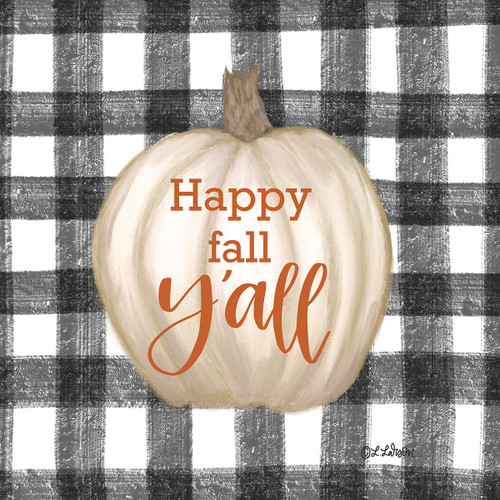 Happy Fall Y'all Pumpkin Picture