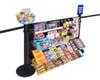 Merchandizing Panel Rack System - Standard Height