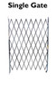 Single Fixed Accordion Gate 4 To 5 Ft Wide Choose A