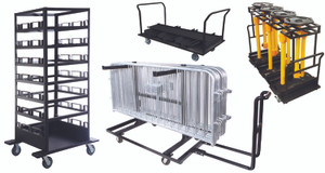 Storage Carts - Barriers & Stanchions