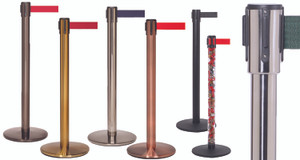Pro Belt Stanchions 11 ft Belts