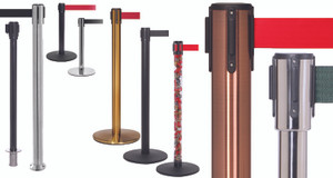 Queue Pro Belt Stanchions