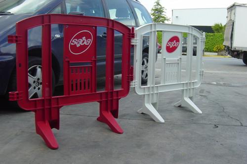 Minit Plastic Barricades | Red