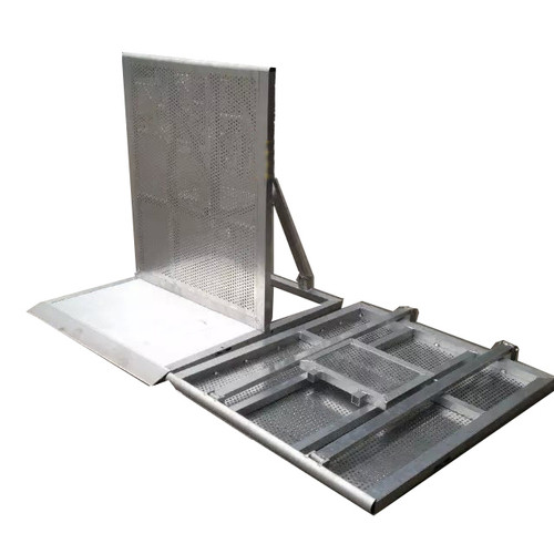 Stage Barrier - Aluminum Straight Unit