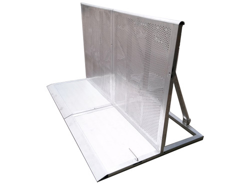 Stage Barrier - Aluminum Corner Unit