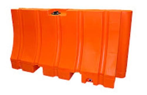 "Plastic Jersey Barrier 42"" x 96"" 200 lb"