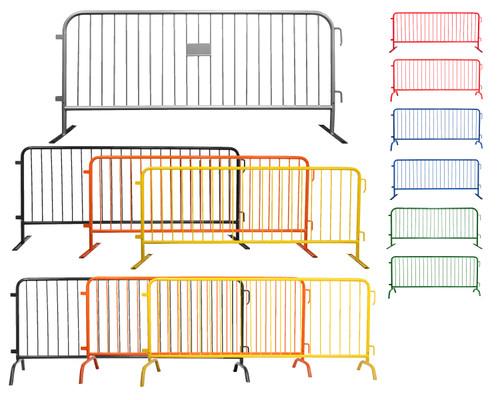8 Foot Heavy Duty Crowd Control Barricades | Bike Rack Barriers