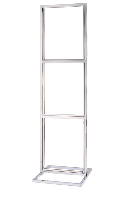 "Triple Frame Sign Stand 22"" x 28"" Square Tube Frame"