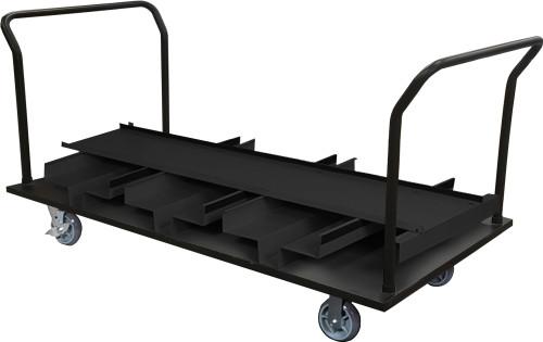 18 Post Stanchion Cart - Vertical