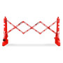 FlexMaster Expanding Barricades 7.5 Foot | Red