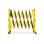 FlexMaster Expanding Barricades 11 Foot | Yellow / Black