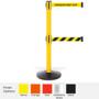 Pro Safety Twin Retractable Belt Barrier 11 / 13 Foot Belt Posts