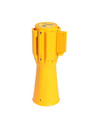 Cone Pro - Yellow Finish Retractable Belt Stanchion Receiver