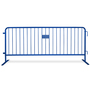 8 Foot Heavy Duty Steel Crowd Control Barricades | Bike Rack Barriers