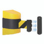 Free Shipping - Magnetic Wall Mounted Retractable Belt Barrier Stanchion - 15 Foot Belt