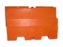 """Stacking Plastic Jersey Barrier 32"""" H x 48"""" L x 16"""" W"""
