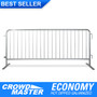 8 Foot Steel Barricades | Hot Dip Galvanized Steel Barriers - Crowd Control