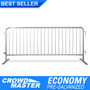 8.5 ft steel crowd control barricades - pre galvanized finish